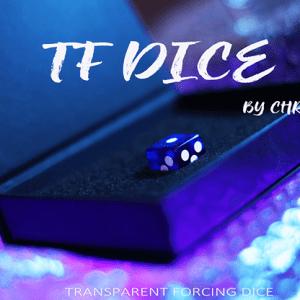TF Dice Blue